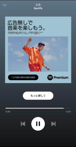 Spotify広告の画像